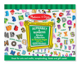 Melissa & Doug Sticker Collection - Alphabet & Numbers 4191