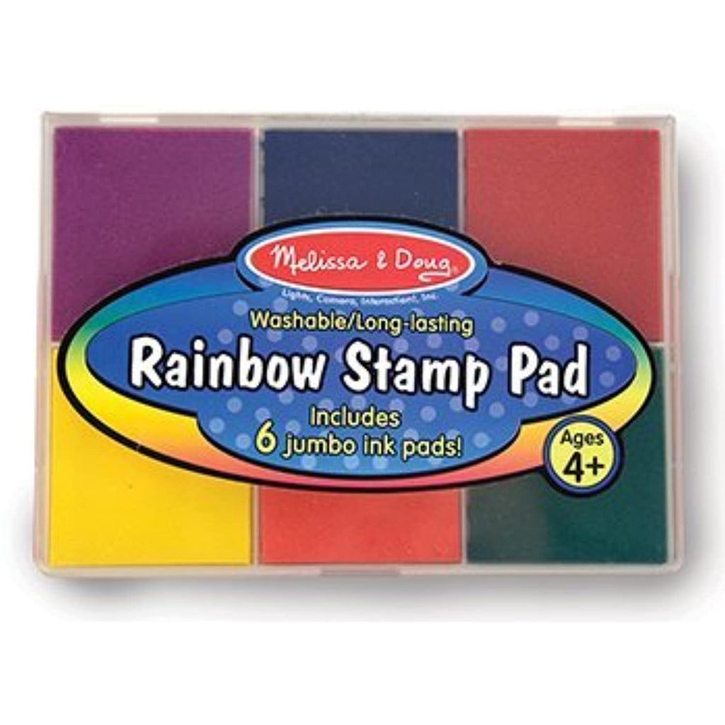 11 Pack MELISSA & DOUG RAINBOW STAMP PAD