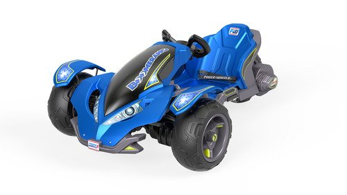 Power Wheels Boomerang 12 Volt Ride On - Blue FLC33