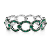 Art Deco Links Bracelet 421B