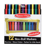 Melissa & Doug Non-Roll Markers 4221