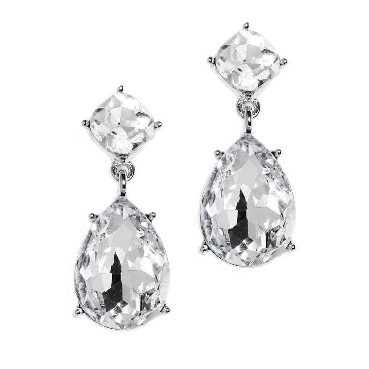 Best-Selling Silver Drop Earrings for Weddings or Proms