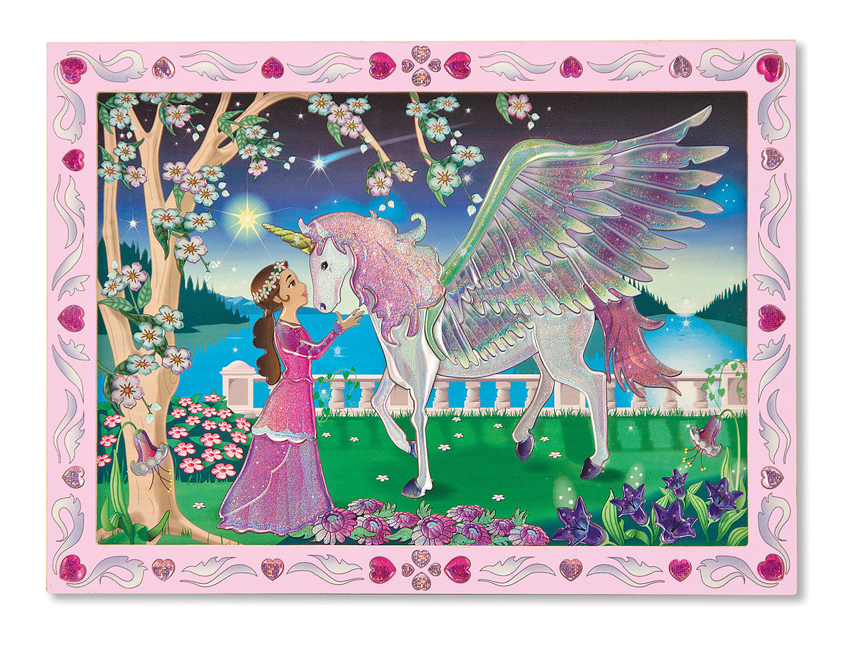 Melissa & Doug Peel & Press Sticker by Number - Mystical Unicorn