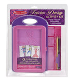 Melissa & Doug Fashion Design Activity Kit 4312
