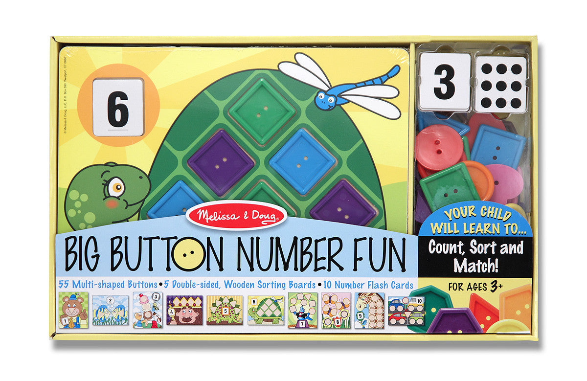 Melissa & Doug Big Button Number Fun 4319