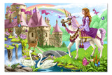 Melissa & Doug Fairy Tale Castle Floor Puzzle (48 pc)