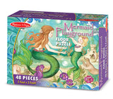 Melissa & Doug Mermaid Playground Floor Puzzle 4436