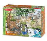 Melissa & Doug Endangered Species Floor Puzzle 4437