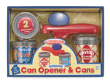 Melissa & Doug Let's Play House! Can Opener & Cans