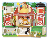 Melissa & Doug Magnetic Farm Hide & Seek Board 4592