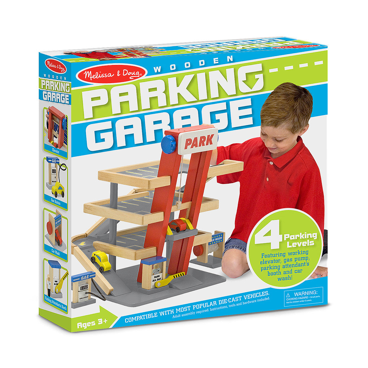 Melissa & Doug Parking Garage