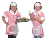 Melissa & Doug Waitress Role Play Costume Set 4787