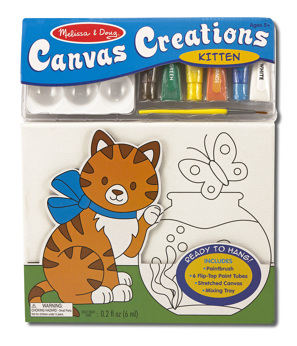 Melissa & Doug Canvas Creations - Kitten