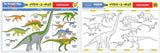 Melissa & Doug Dinosaurs Color-A-Mat (Bundle of 6) 5027