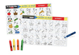 Melissa Doug Alphabet Write-A-Mat (Bundle of 6) 5028