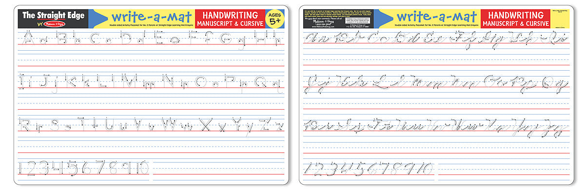Melissa & Doug Handwriting Write-A-Mat (Bundle) 5035