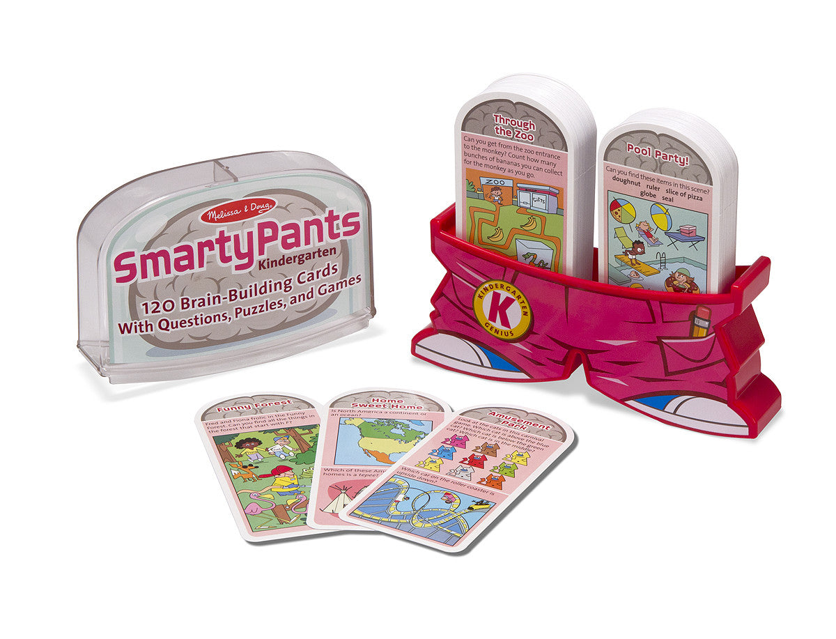Melissa & Doug Smarty Pants - Kindergarten Card Set 5071