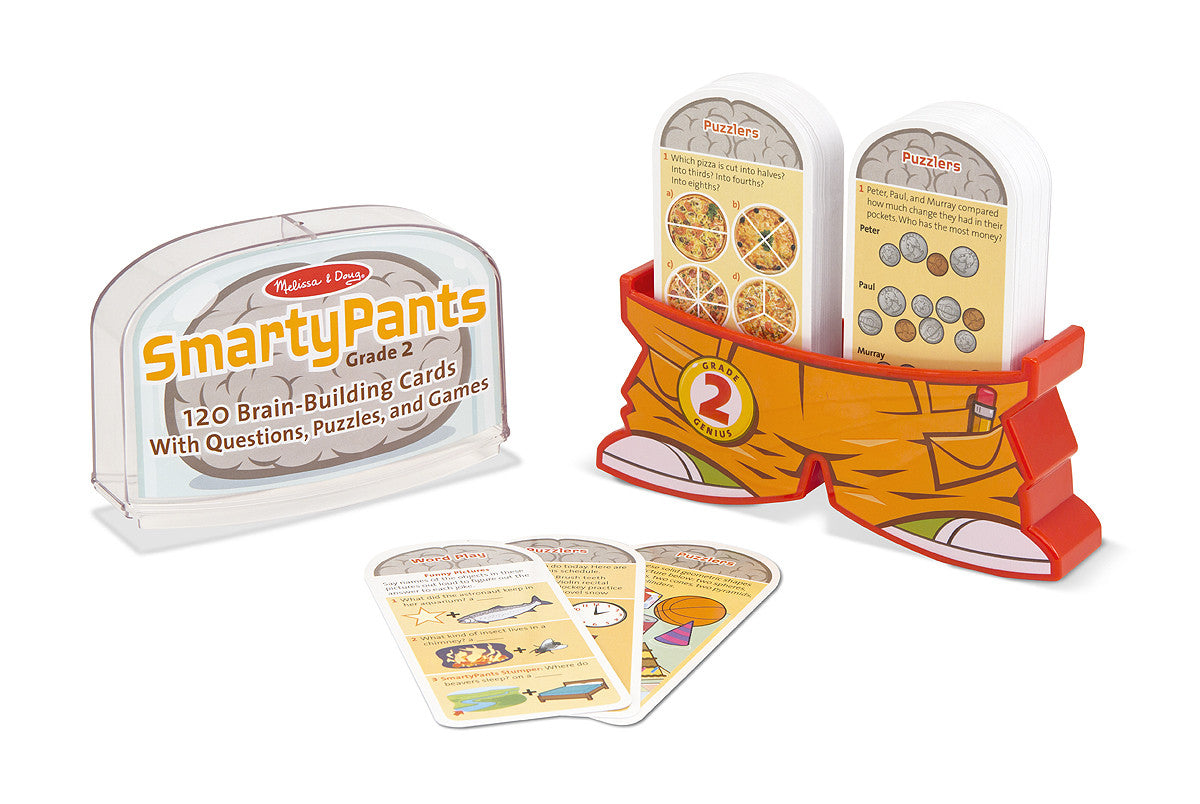 Melissa & Doug Smarty Pants - 2nd Grade Card Set 5073
