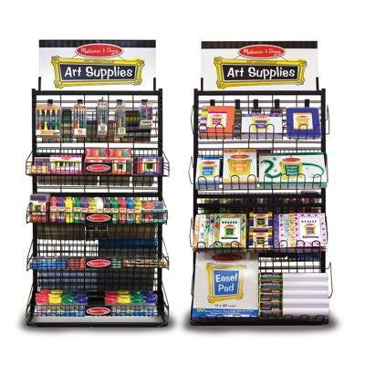 Melissa & Doug Art Supplies Display Rack