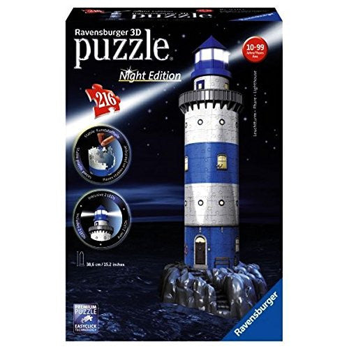 Ravensburger 3D Puzzles Lighthouse - Night Edition 12577