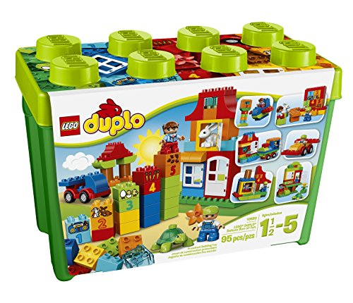 LEGO DUPLO Deluxe Box Of Fun 10580 Preschool Creative Play Toy