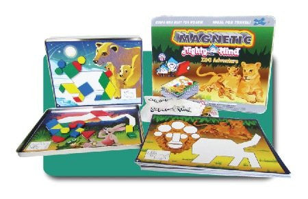Leisure Learning Products Magnetic MightyMind Zoo Adventure 40124
