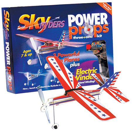 Be Amazing Toys Power Props (3 SkyRyders & Winder) 9868