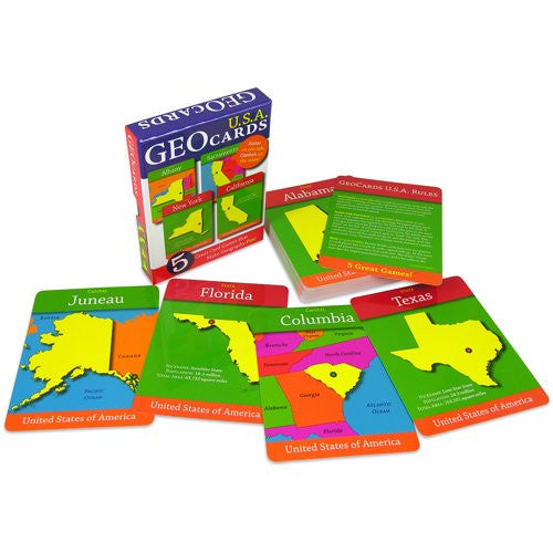GeoToys Geocards Usa