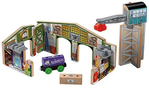 Fisher Price Thomas the Tank Engine wooden rail series Creative Junction Slot & Build creative Junction BDG77