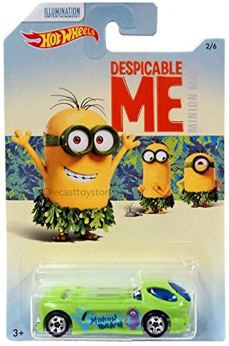 "Mattel Despicable Me - ""Minion Made"" Cars Assortiment ""A"" 6PCS DWF12"