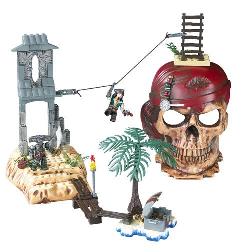 Mattel Mega Bloks Pirates of the Caribbean -Isla Cruces DFB58