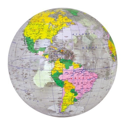 "Jet Creations 12"" Clear Political Globe"