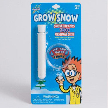 Be Amazing Toys Grow Snow Blister Card 5225T