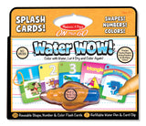 Melissa & Doug WaterWOW! Splash Cards Shapes, Numbers & Colors