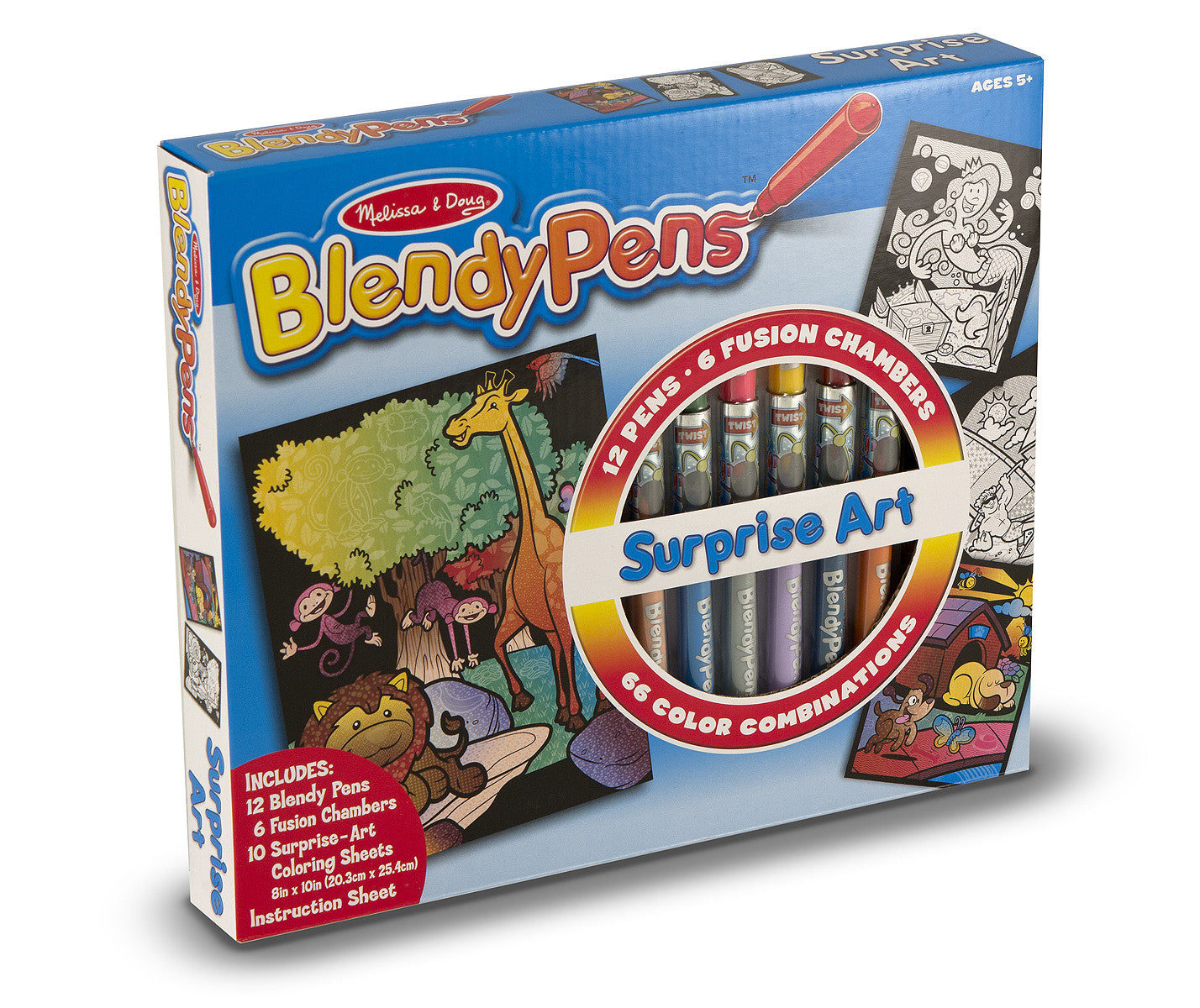 Melissa & Doug Blendypens - Surprise Art 5298