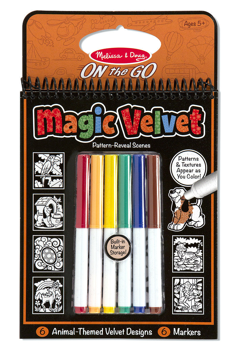 Melissa & Doug Magic Velvet-Animal