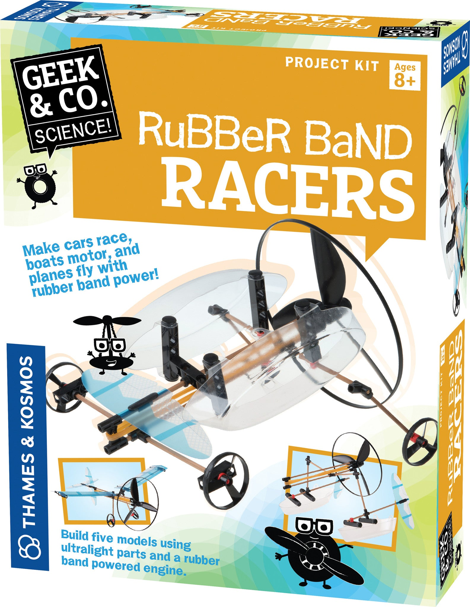 Thames & Kosmos Rubber Band Racers 550020
