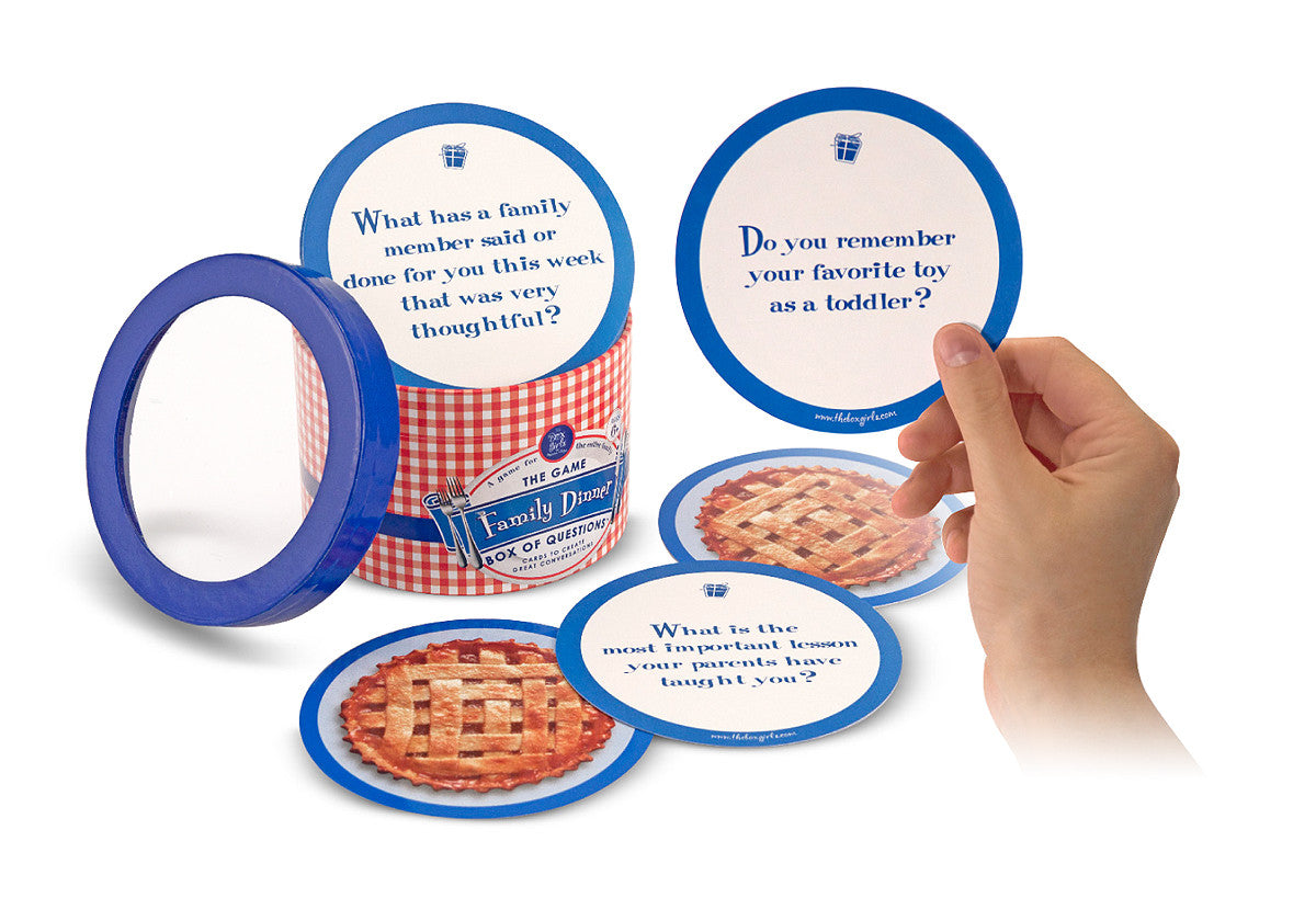 Melissa & Doug Family Dinner Box of Questions 5706