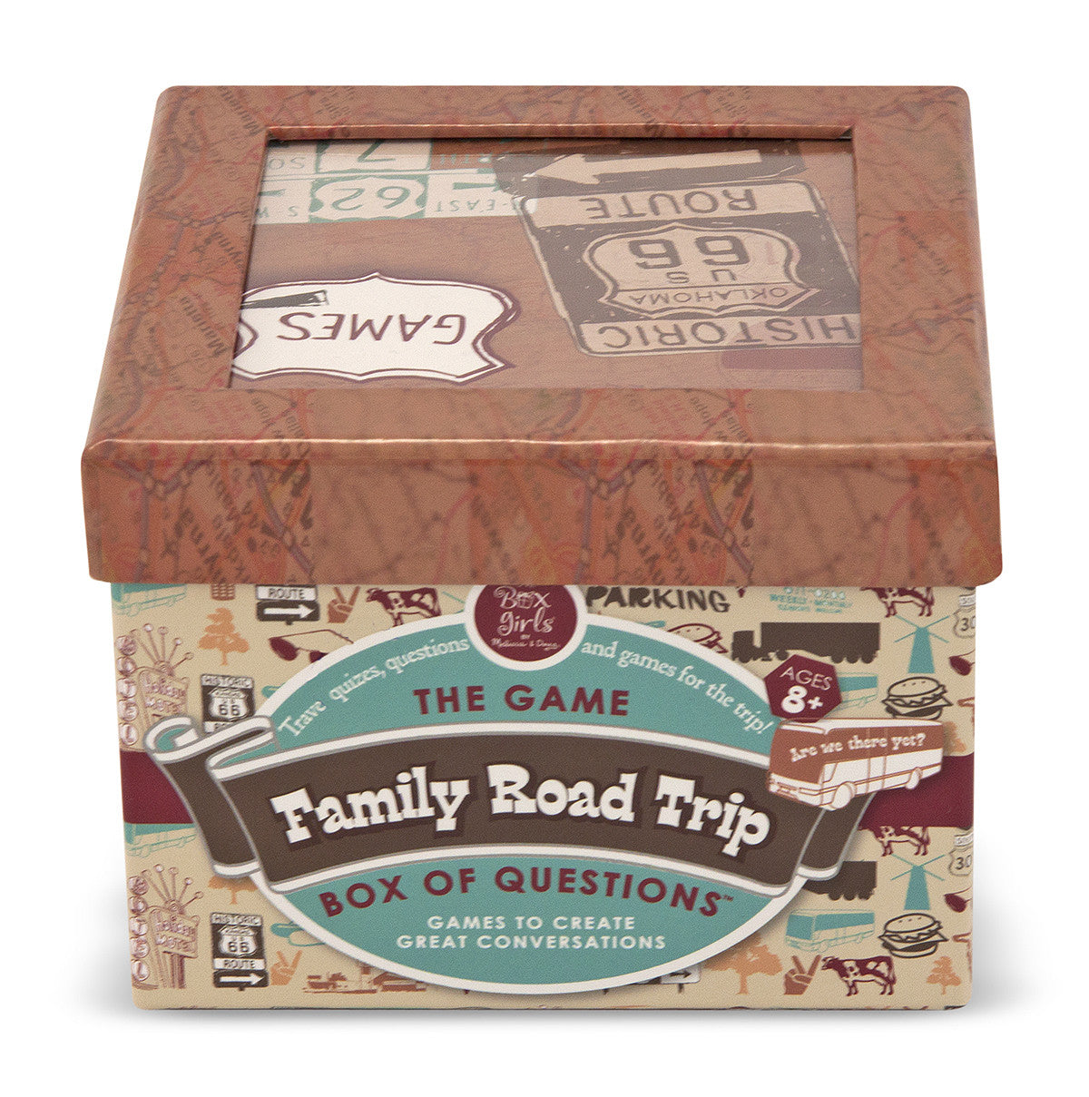 Melissa & Doug Family Road Trip Box of Questions