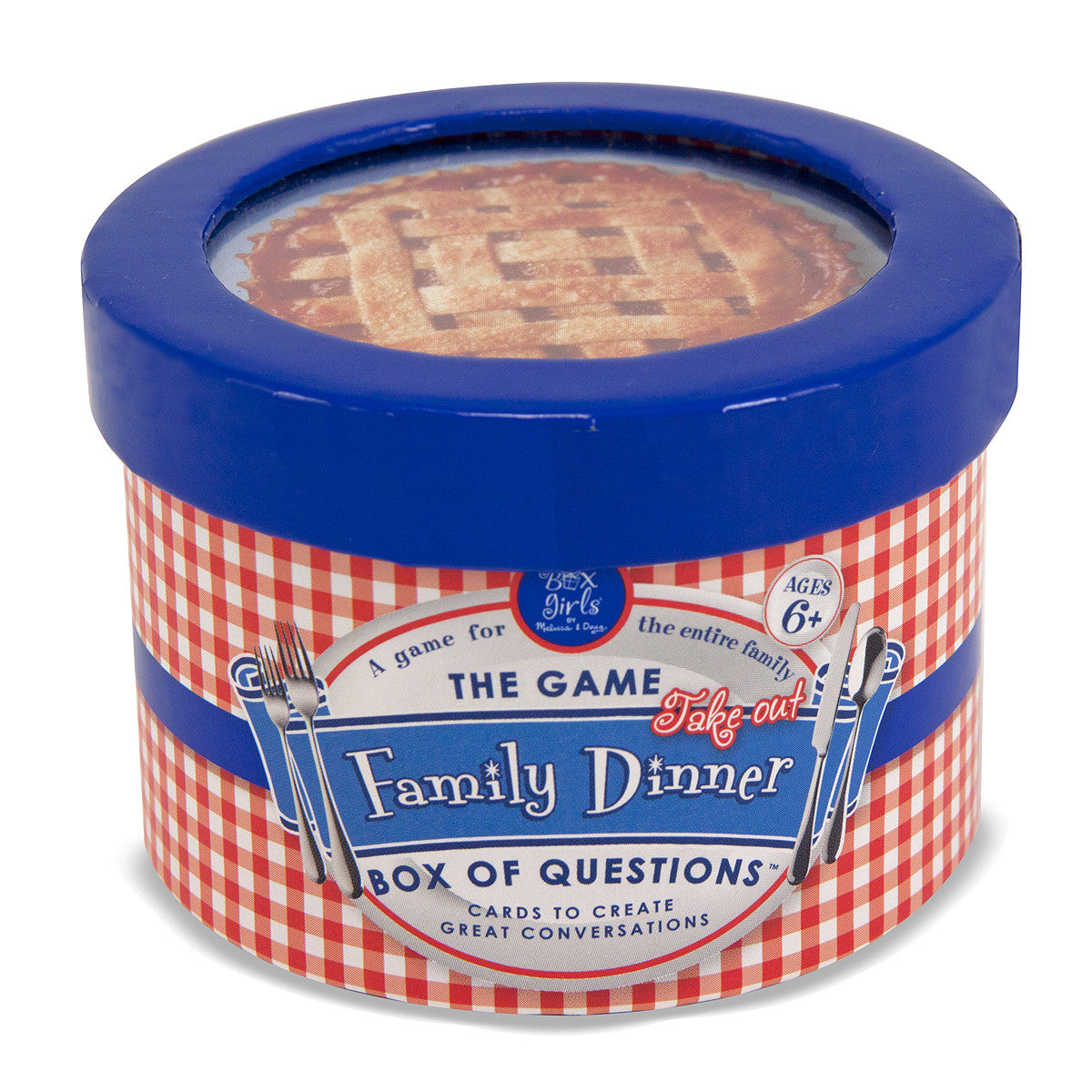 Melissa & Doug Family Dinner Box of Questions - Mini 5713