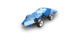 LaQ Hamacron Constructor - Mini Racer 2 - Blue LAQ001511 by LaQ Blocks