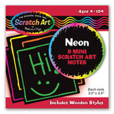 Melissa & Doug Neon Mini Scratch Notes 5841