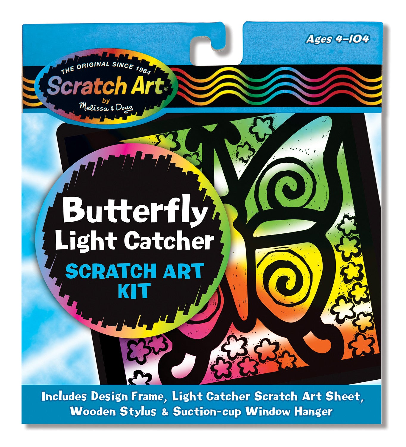Melissa & Doug Butterfly Light Catcher Scratch 5885