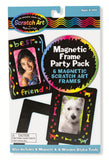 Melissa & Doug Magnetic Frame Scratch Art Party Pack