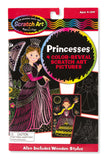 Melissa & Doug Color-Reveal Pictures - Princess