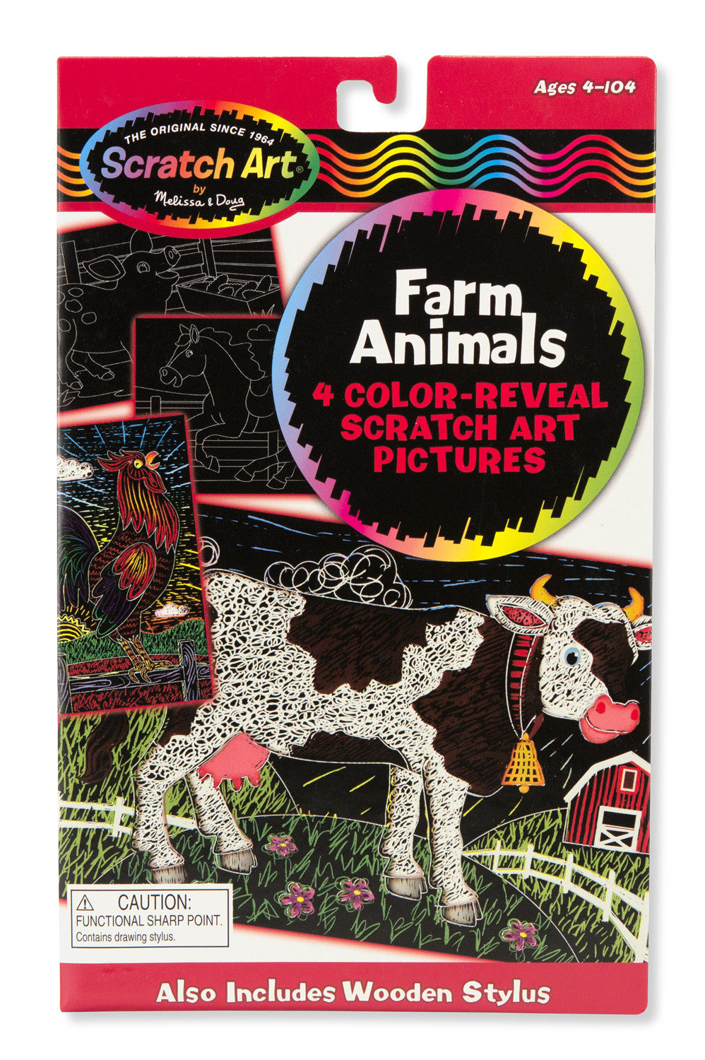 Melissa & Doug Color-Reveal Pictures - Farm