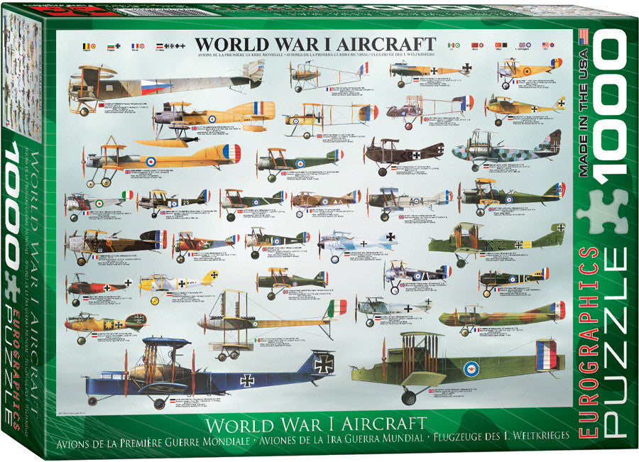 EuroGraphics Puzzles WWI Aircraft