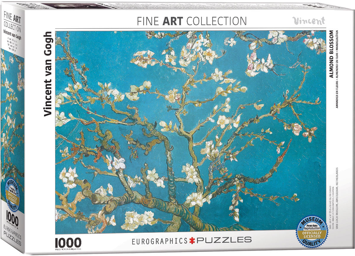 EuroGraphics Puzzles Almond Tree Branches in Bloom by Vincent Van Gogh