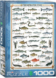 EuroGraphics Puzzles Freshwater Fish