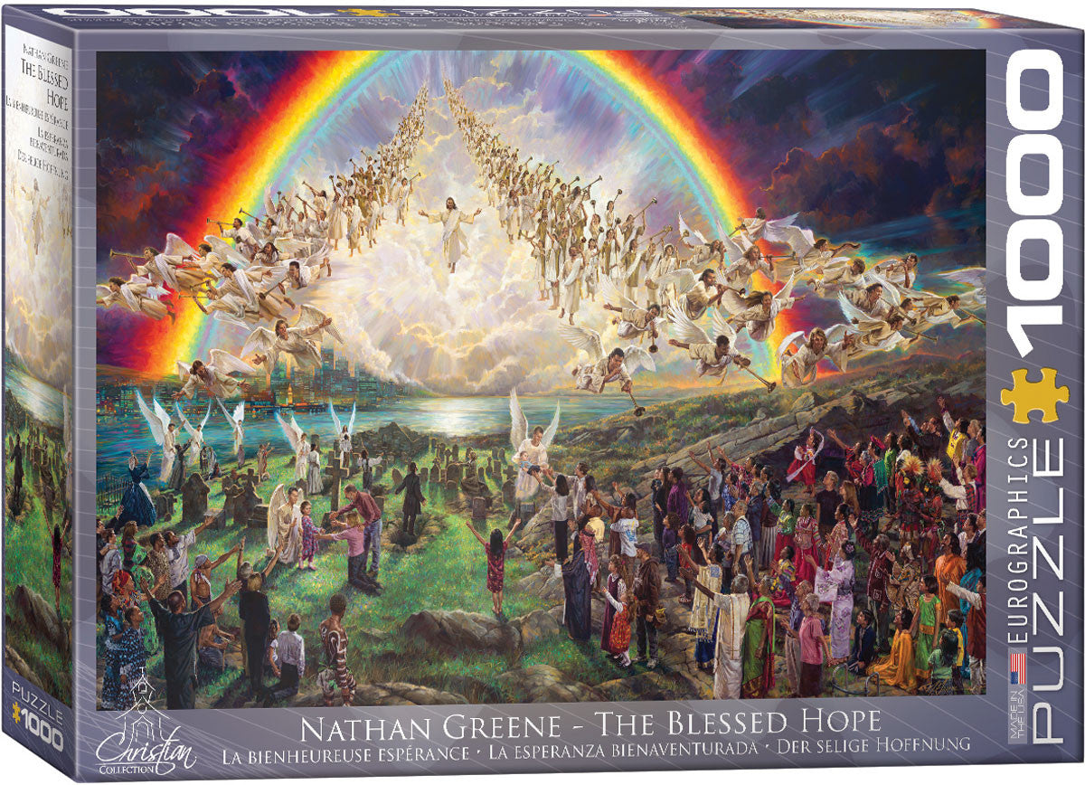 EuroGraphics Puzzles The Blessed Hopeby Nathan Greene